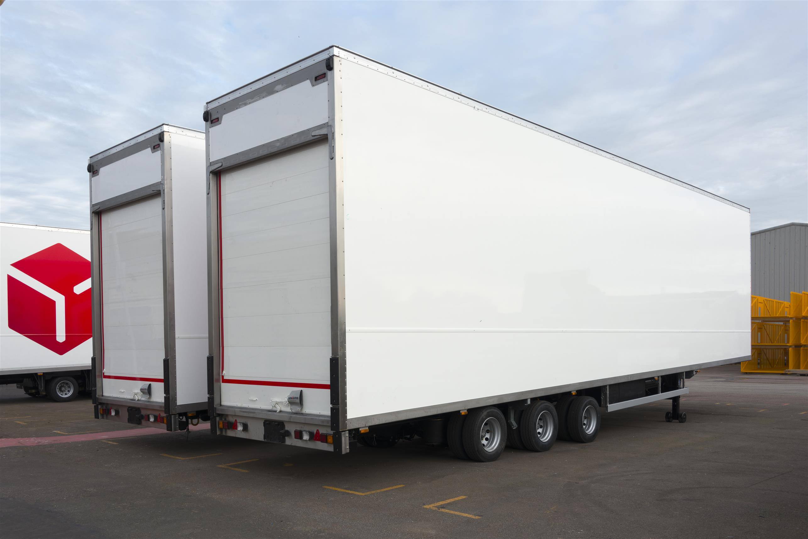 GRP laminates for refrigerated and industrial vehicles