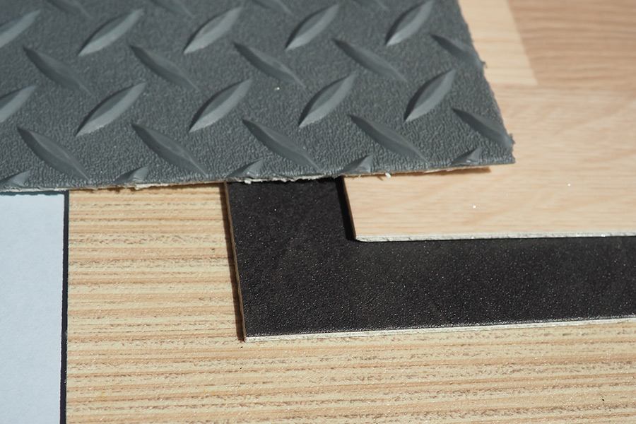 FRP laminate with PVC coating