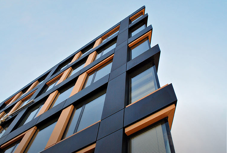 FRP laminates for the building industry